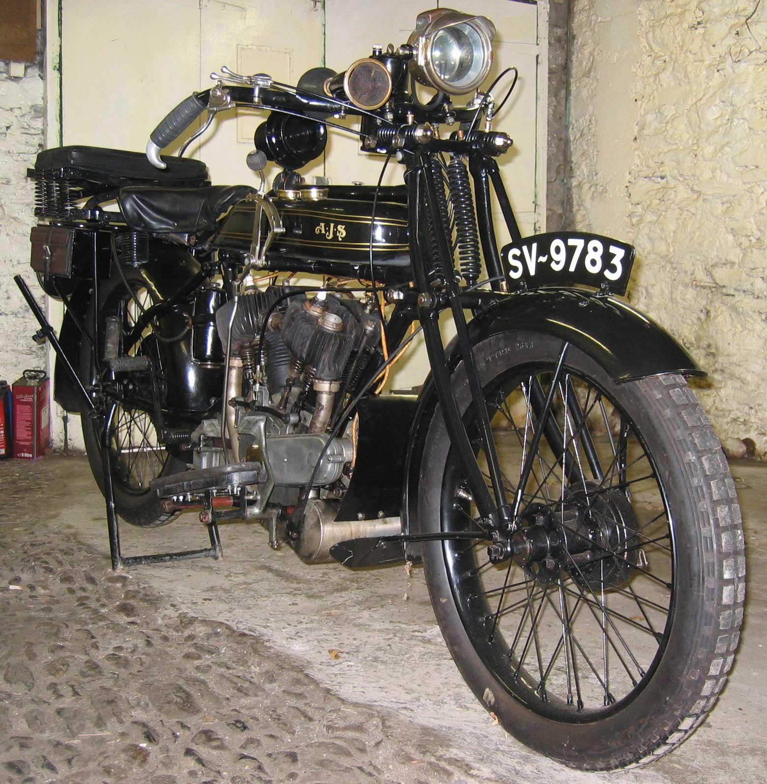 1925 AJS Model E1