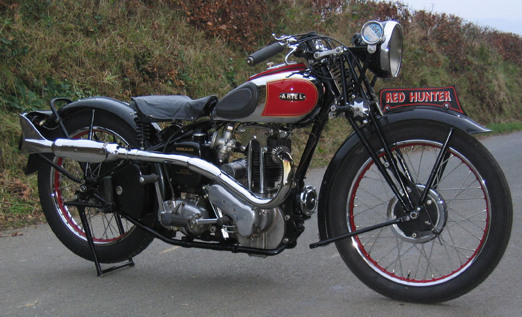 1937 Ariel Red Hunter Nh 350